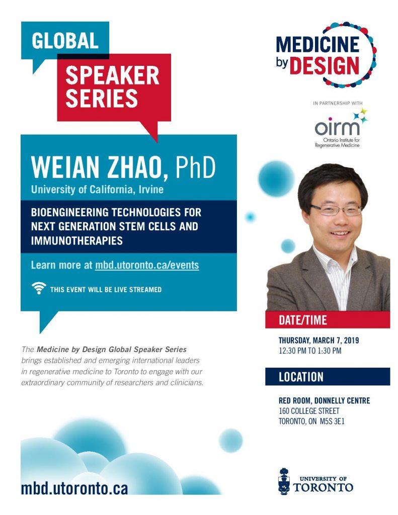 Weian Zhao seminar