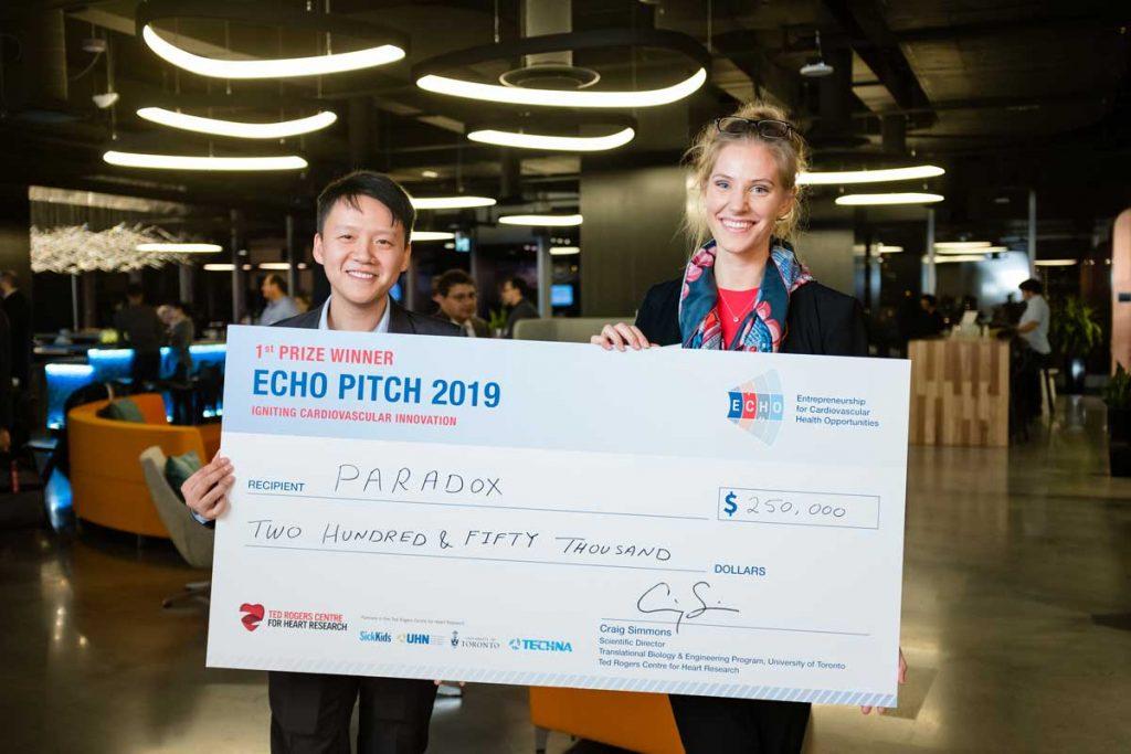 ECHO Pitch winners