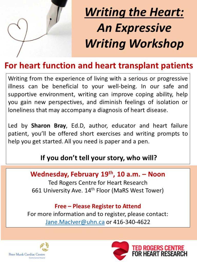 writing for heart failure